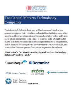 Top Capital Markets Technology Companies - Technology Blog 1 - Medium Marketing Technology, Consulting Firms, Business Checks, Finance, Innovation, Medium, Blog, Blogging, Economics