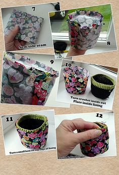 Ravelry: LoobysLoops' Crochet coin purse with instructions in pics