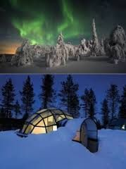 Igloo Village in Finland lets you see the northern lights, in luxury