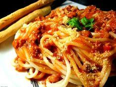 Spaghetti w/Meat Sauce recipe from Danno @ Five-O Ribs!!