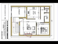 25 x 33 ghar ka design II 825 sqft house plan II ghar ka naksha II घर या मकान का नक्शा - YouTube 2bhk House Plan, Simple House Plans, Duplex House Plans, Family House Plans, House Balcony Design, 2 Storey House Design, House Front Design, Small House Design, Bungalow Floor Plans
