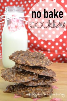 How to Make No Bake Cookies...simple recipe