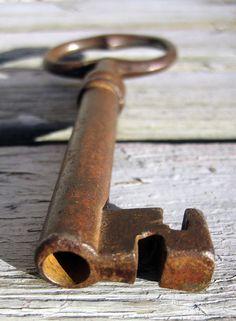 Rusty Old Key