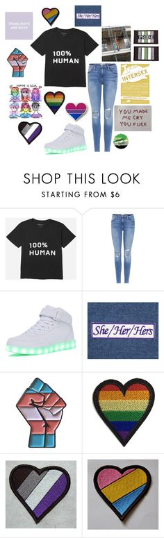 """Human"" by daddysbabyfox ❤ liked on Polyvore featuring Everlane and Frame"