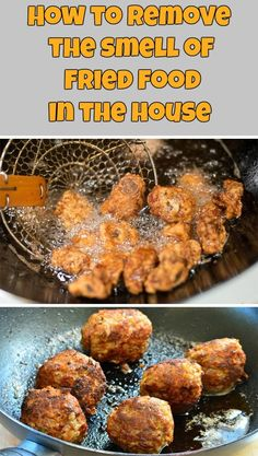 How to remove the smell of fried food in the house - nCleaningTips.com
