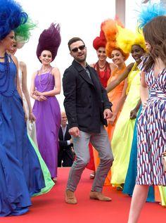 Pin for Later: Die besten Schnappschüsse vom Filmfest in Cannes Justin Timberlake