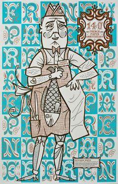 Retro, Typpgraphy, & Illustration