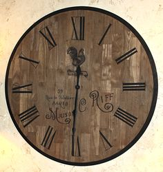DIY French Country Clock - The Graphics Fairy