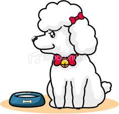 Cartoon Of Dog | Schnauzer/Poodle