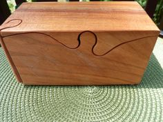 Handcrafted 4 Piece Cherry Wood  Puzzlebox with by Geneswoodnstuff, $22.00