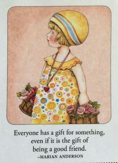 Everyone Has A Gift-Handmade Fridge Magnet-Mary Engelbreit Artwork Mary Engelbreit, Good Thoughts, Beautiful Words, Childrens Books, Illustrators, Best Friends, Inspirational Quotes, Motivational, Clip Art