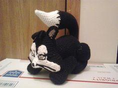 Penelope Pussycat (Looney Tones) pattern by Christjan Bee Crochet Elephant Pattern, Crochet Patterns, Domestic Cat, Toy Boxes, Crochet Toys, Dinosaur Stuffed Animal, Give It To Me, Weaving, Kitty