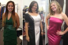"Desert Best Friends Closet - Ladies from 29 Palms Marine Corp Base styling their beautiful gowns for their annual Military Ball. Part of our Military Ball Gown Program ~ our volunteers love to help our military wives and active duty ladies ""shop""!"