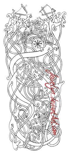 Ziemlich Thor Malvorlagen Einfach Ideen: #Wikingerstil #Normannen #Wikinger