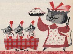 Mary Blair cats