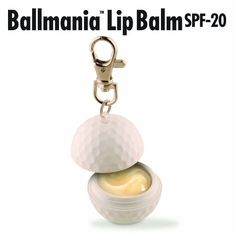 Ballmania Lip Balm SPF-20 is a one-of-a-kind lip balm for serious sports enthusiasts and the fans who watch them. Utilizing a powerful punch of lip defending moisturizers and full protection SPF-20 armor, it is ideal for both indoor and outdoor sports alike. Consumers everywhere apply lip balm countless times each day and these patented shapes can easily be located in gym and duffel bags for quick, on-the-go use.