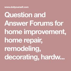 Home Appliances Black Friday Wood Cornice, Cleaning Appliances, Home Appliances, Appliance Repair, Remodeled Campers, Home Repair, Home Depot, Plumbing, Garden Painting