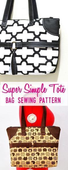 tote sewing pattern | purse patterns | handbag sewing patterns | purse patterns