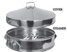 stainless steel dim sum steamer insert - Google Search