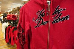 House of Harley-Davidson: Hoodie with tribal accented sleeve