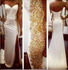 #White and #Gold