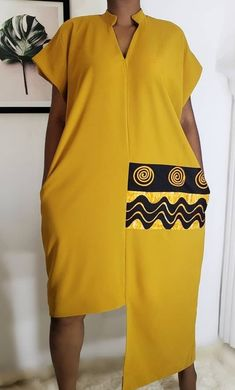 Short African Dresses, African Blouses, Latest African Fashion Dresses, African Print Fashion, Ankara Dress Designs, Kitenge, African Attire, Looks Style, A Boutique