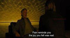 Blade runner 2049 (2017) Denis Villeneuve, Blade Runner 2049, Wicked, Joy, Fictional Characters, Glee, Being Happy, Fantasy Characters, Happiness