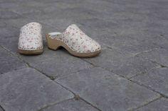 Relieff, sko, gråmix