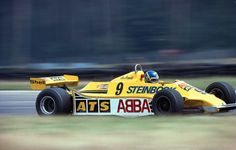 Tommy 'Slim' Borgudd in the ATS HSG1, 1981