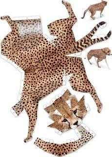 модели из бумаги схемы животные: 13 тыс изображений найдено в Яндекс.Картинках