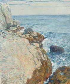 The East Headland, Appledore - Isles of Shoals, 1908, Frederick Childe Hassam