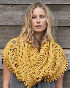 Cleckheaton Superfine - Crochet Cowl Pattern, $5.00 (http://www.cleckheatonsuperfine.com.au/crochet-cowl/)
