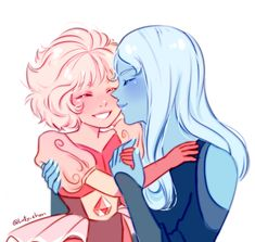 Blue Pink Diamond Kiss Cheek Sunshine #PinkDiamonds