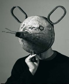 Isidro Ferrer. That remind me of Maus.