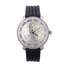 PLANISPHERE WATCH | Planisphere Watch, beautiful, stars, constellations, navigational, maps, Ancient Greeks, astronomy | UncommonGoods