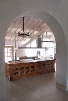 Gorgeous kitchen idea.... from Plum Pretty Sugar....