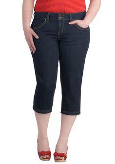 Skip Down the Shore Jeans in Plus Size | Mod Retro Vintage Pants | ModCloth.com