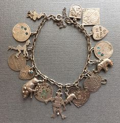 eCharmony Charm Bracelet Collection - Jester & Thin Coin Charms