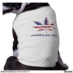 American Dog Pet Shirt