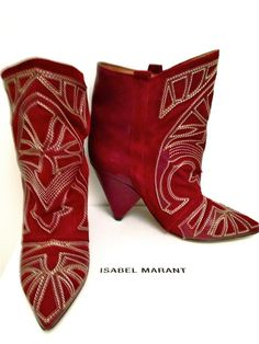 ISABEL MARANT BOOTS @Michelle Coleman-HERS