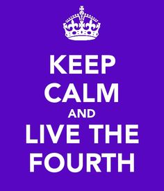 Doubt the first, Cry the second, Trust the third, and Live The Fourth!