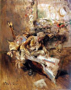Giovanni Boldini - The Art Connoisseur