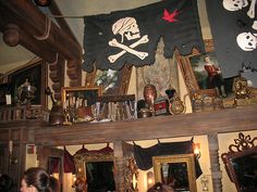 Disney's area to get dressed up like a pirate