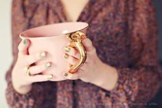 want that teacup (and that nail polish){photo by frl. klein}