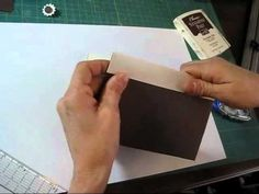 12x12 paper purse- video