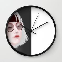 Miss Evie The Witch Wall Clock by yayashi Evie, Witch, Clock, Illustrations, Etsy Shop, Art Prints, Wall, Design, Watch