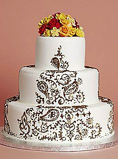 henna wedding cake | Henna Wedding Cake Pictures - Project Wedding