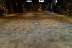 End grain wood blocks in oak