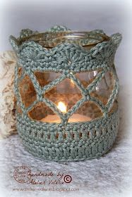 Pretty Crochet Votive