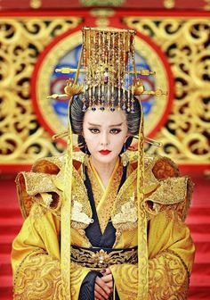 """Fuck Yeah Chinese Fashion Fan Bingbing as the only Empress regnant in Chinese history - Wu Zetian """"The Empress of China"""" (2014)"""